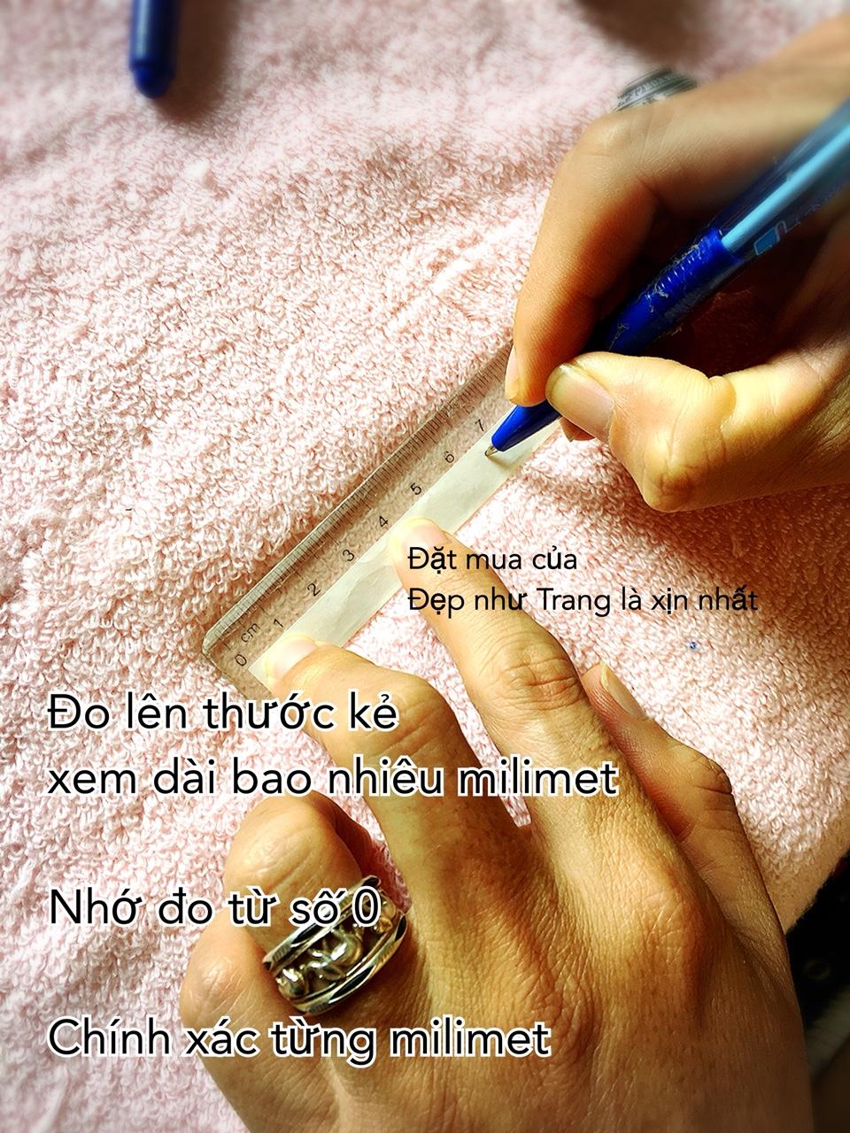 Cách đo size ngón tay đeo nhẫn - bước 2