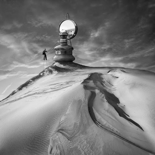 01-Silence-of-the-Lamp-Dariusz-Klimczak-Black-and-White-Surreal-Altered-Reality-www-designstack-co