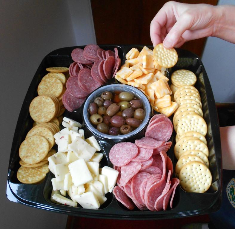Sampling Hormel Gatherings tray.jpeg