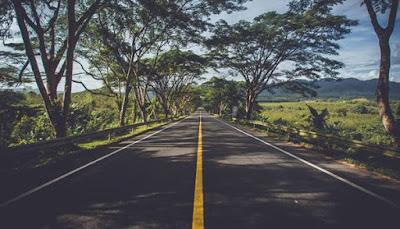 Jalan Juara Kian Nyata, jalan terbuka, jalan sepi, highway