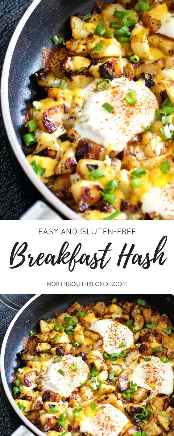 GLUTEN-FREE BREAKFAST HASH #freebreakfast #breakfastrecipes #breakfast #hash #lunchrecipes