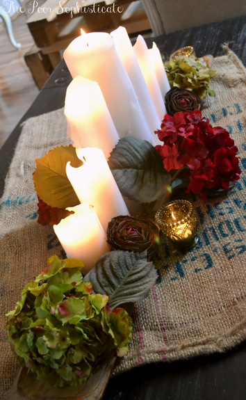 The Poor Sophisticate Diy Simply Rustic Fall Centerpiece