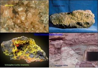 macam-macam mineral radioaktif