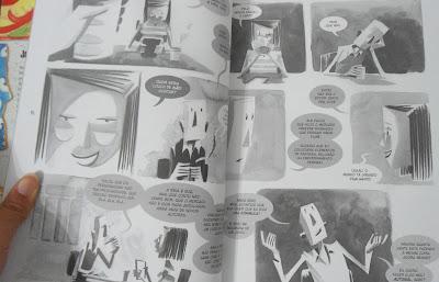 Fotos das páginas do livro Coisas de adornar paredes