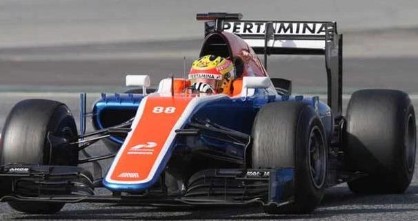Hasil Formula 1 GP China 2016: Cuplikan Video F1 Rio Haryanto di Sirkuit Shanghai