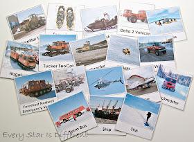 Transportation in Antarctica Cards