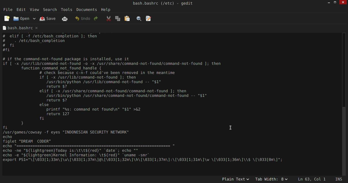 Cara Mempercantik Terminal Kali Linux