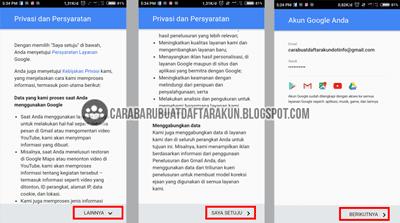 Cara Daftar Email Baru lewat Hp Android untuk Buat Akun Google