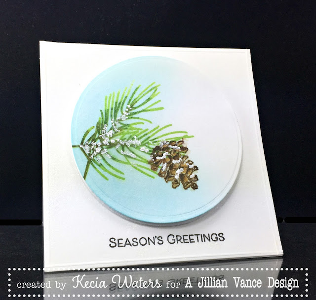 AJVD, Kecia Waters, Pine Branches, Season's Greetings