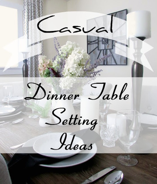 Table Setting Ideas for a Dinner Party