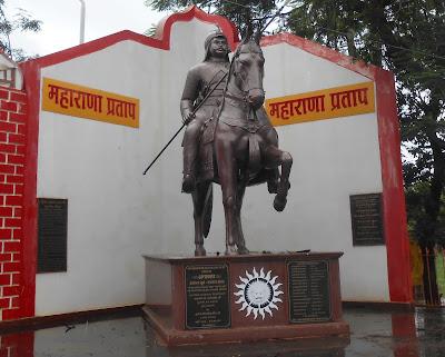 Jagdalpur, Statue of Maharana Pratap
