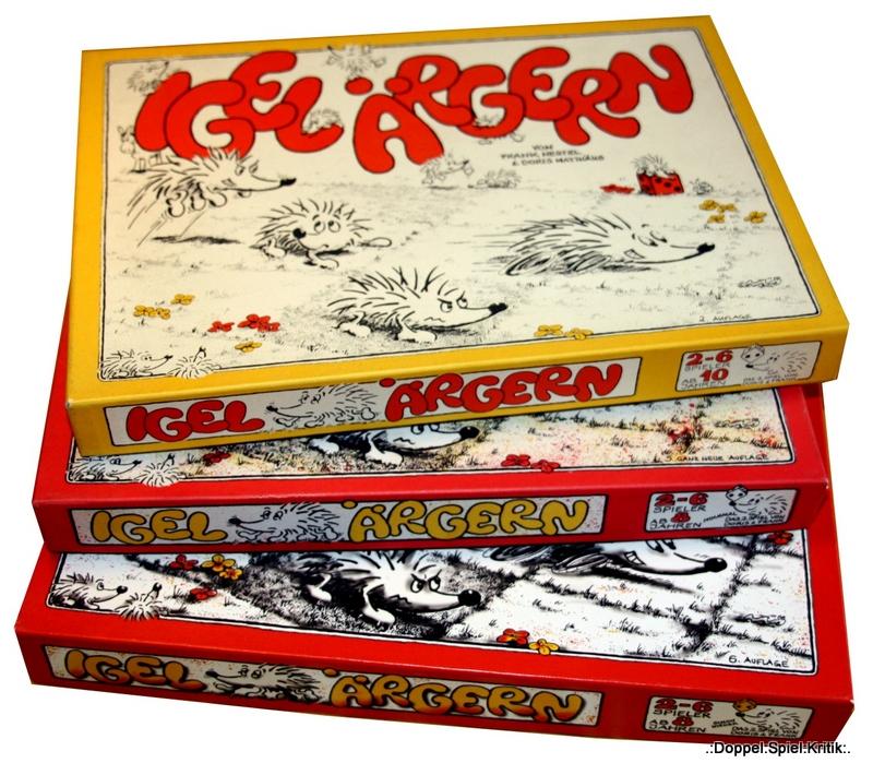 """Doppel Spiel Kritik Spiele Archäologie Teil 7 IGEL """"RGERN von"""