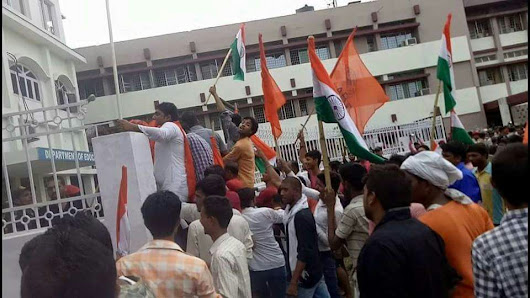 Magadh University in Chaos during the Senate Meeting as 80 are injured!
