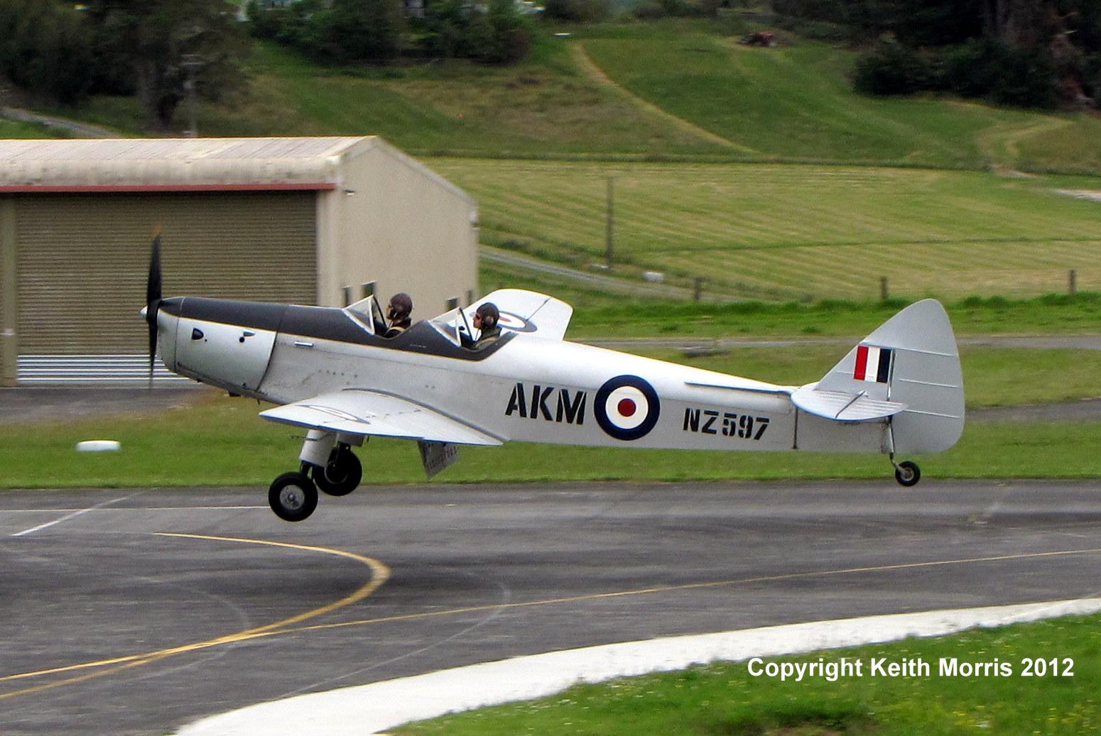 NZ Civil Aircraft: Ah! De Havillands Unfolding at North