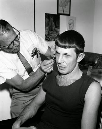 Spock Leonard Nimoy hair randommusings.filminspector.com