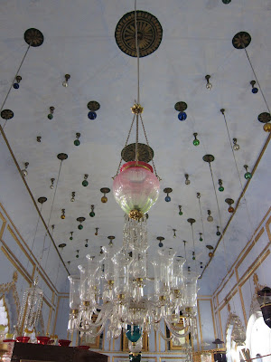 Lucknow Chotta Imambara glass chandelier