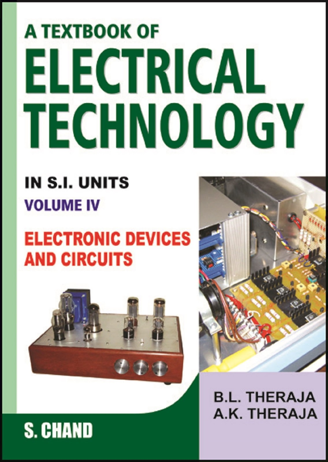 pdf book : A Textbook of Electrical Technology Volume IV