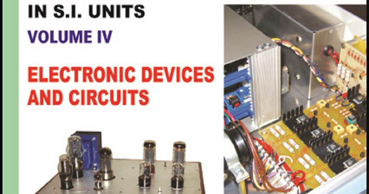 Principles Of Electronic Devices And Circuits By B L Theraja