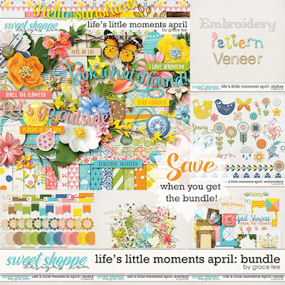 Life's Little Moments April: Bundle