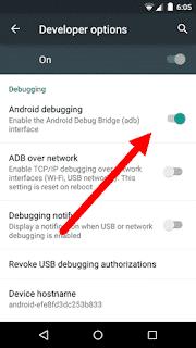 usb debugging mode stock5