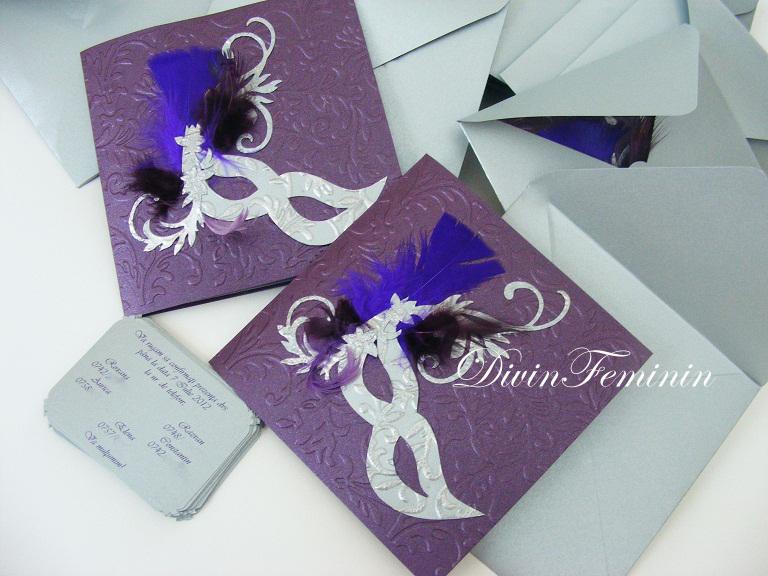 """DivinFeminin by NataliaMarcu: Masquerade in """" Purple ..."""