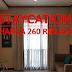 Staycation seharga 260 ribuan