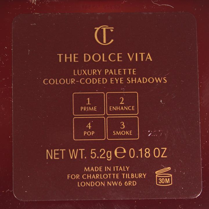 Charlotte Tilbury The Dolce Vita Palette
