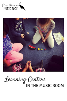 Learning centers in the music room: Ideas and strategies for centers, or stations, in your music classroom!