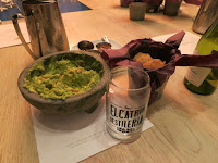 Freshly made guacamole at El Catrin