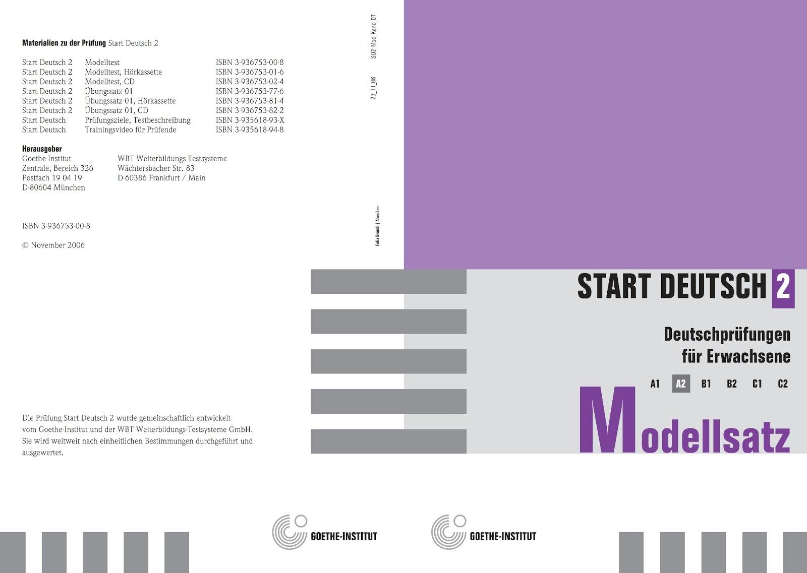 Deutsch Lernen Start Deutsch A2 Download