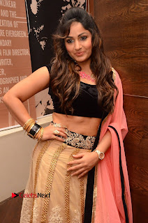Actress Madhavi Latha Pictures in Lehenga Choli at Dr Chakravarthy Movie Audio Launch  0014.JPG