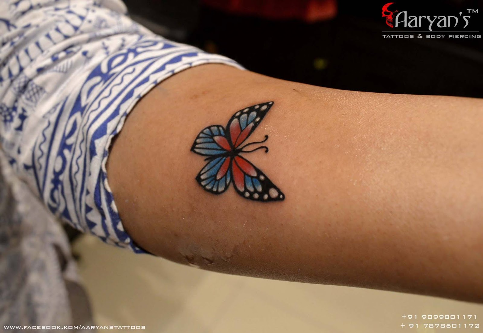 6697432ae Small Tattoos By Krunal Tattooist At Aaryan's Tattoos & Piercing