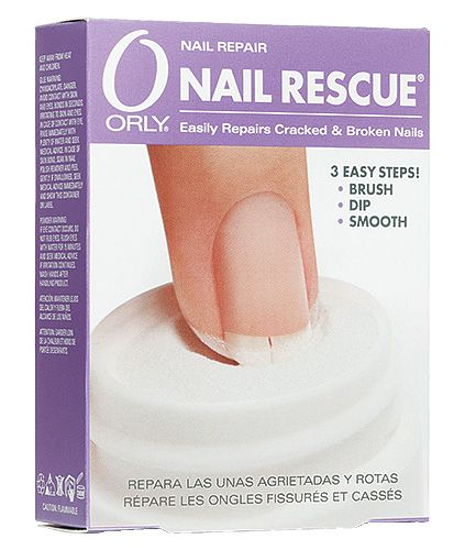 Blondie\'s Nails: Orly Nail Rescue - How I Patch My Split Nails