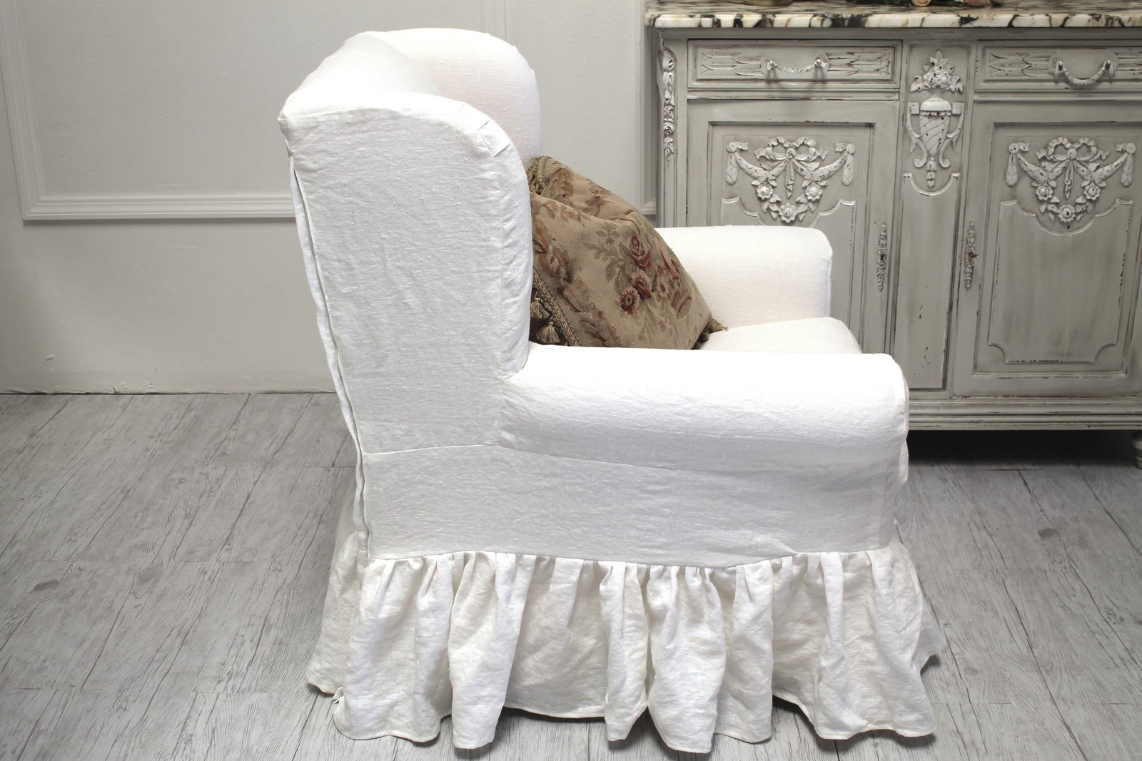 ruffle chair sashes swivel lazy boy full bloom cottage fall sale starts november 1st