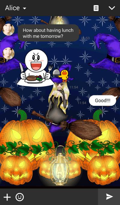 .Halloween Party.