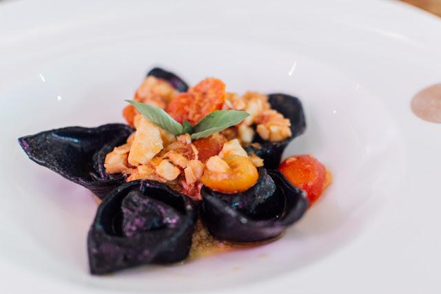 PASTA: Tortelli di Pescato al Nero
