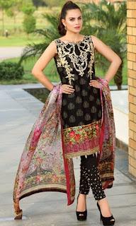 Saadia Asad Noor Luxe Eid Festive Collection 2016-2017