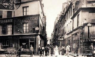 La rue de Lappe, Paris.