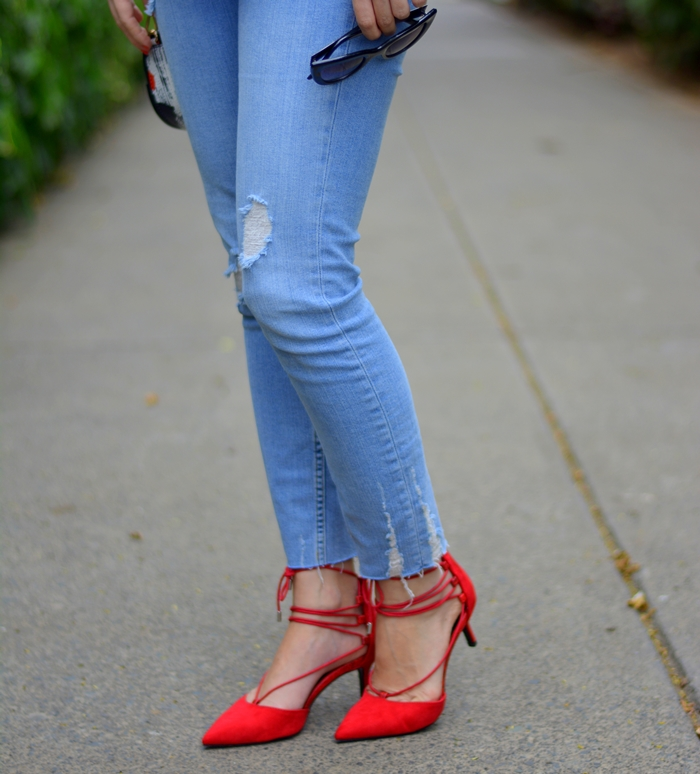 zara-jeans-bershka-red-laced-up-shoes