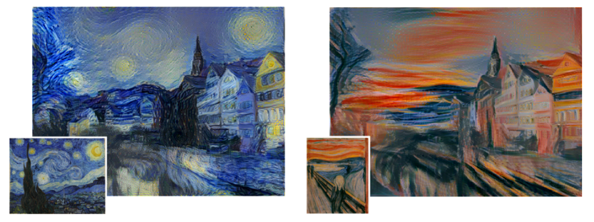 art has already begun to be impacted by deep learning