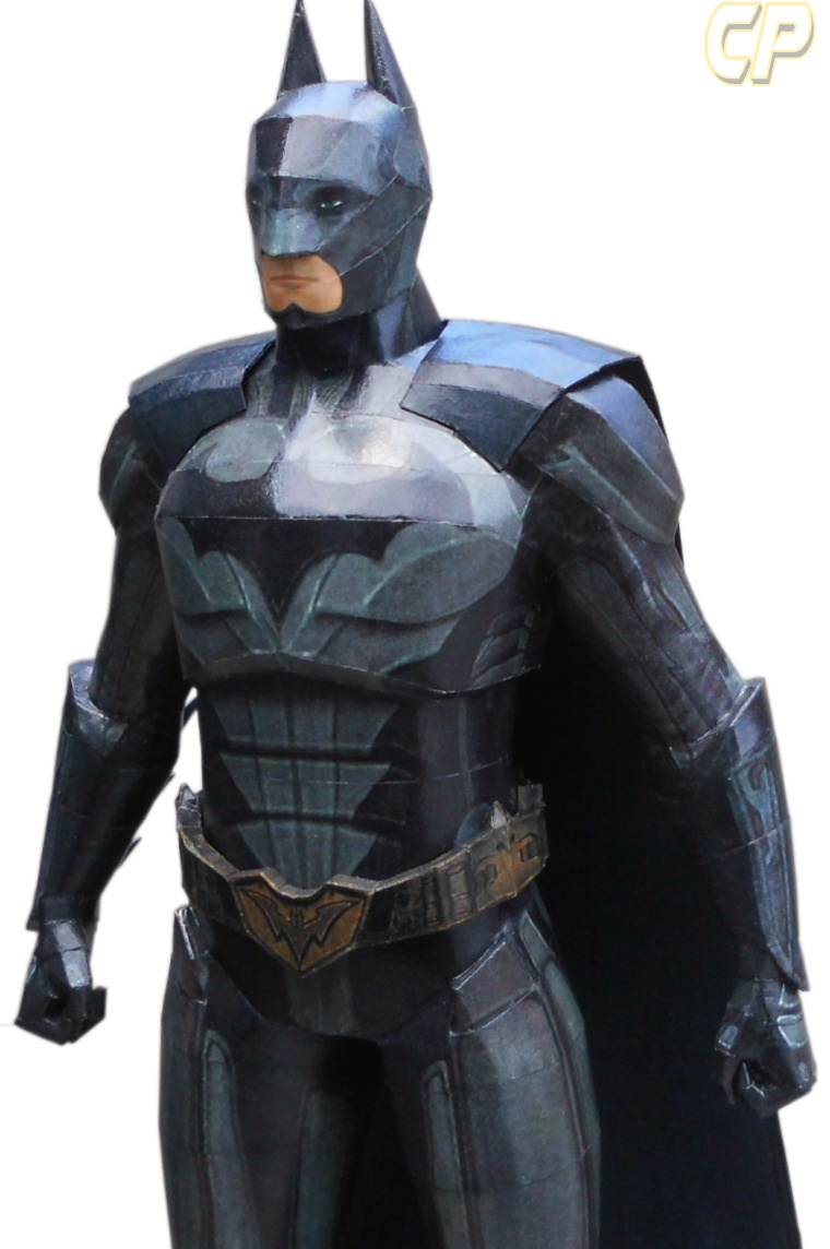 injustice gods among us batman paper model