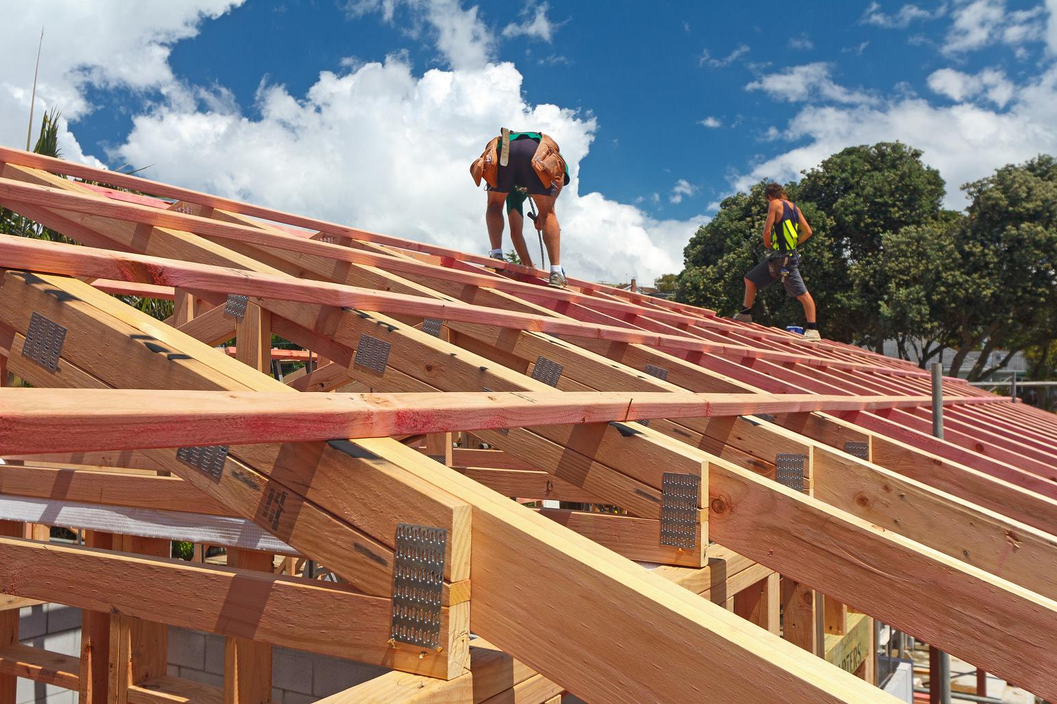 Roof Framing The New Zealand S First Passive House