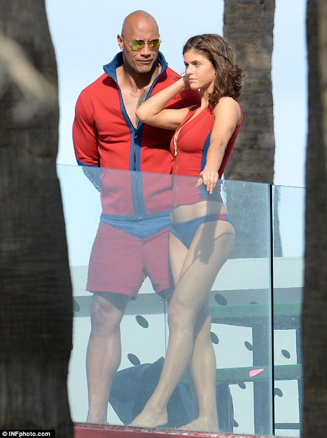 Alexandra Daddario - photo shoot on Miami