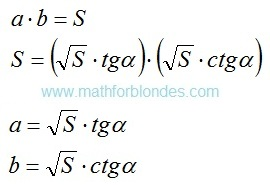 Decomposition on factors. Mathematics For Blondes.
