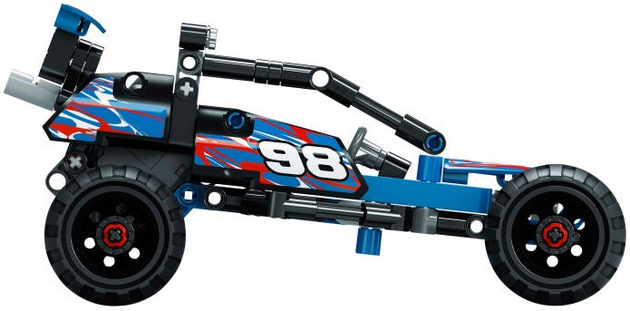 Review Lego Technic Pull Back Cars The Test Pit
