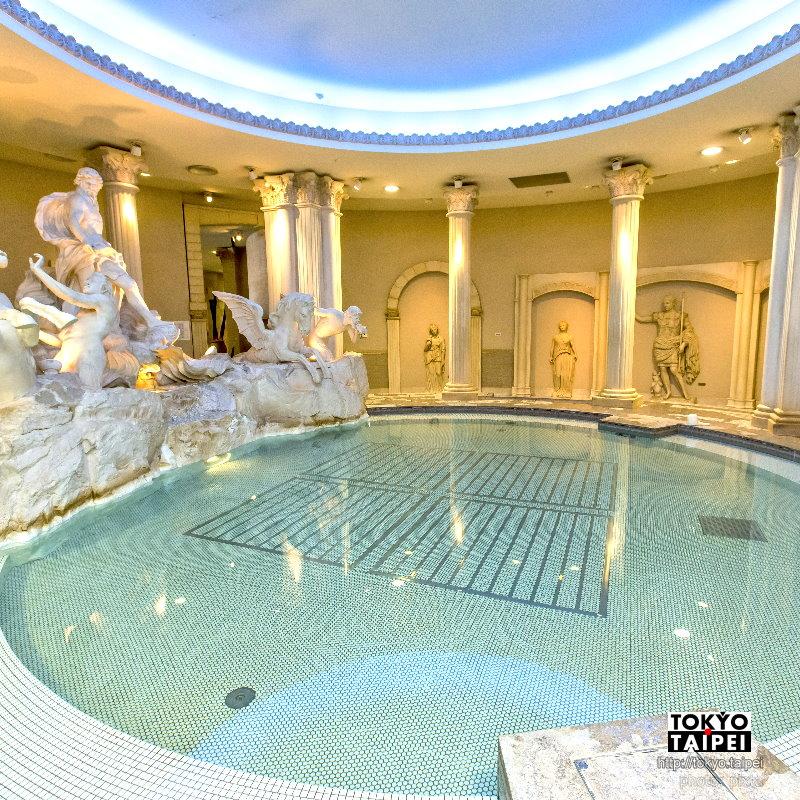 【SPA WORLD世界大溫泉】可玩上一整天的溫泉樂園 泡遍歐亞風情溫泉池
