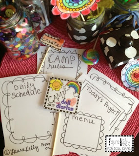 camp printables for American Girls