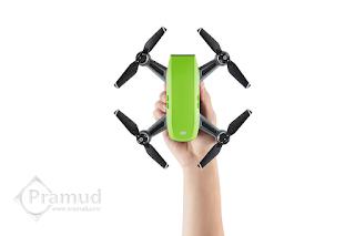 review, spesifikasi kelebihan kekurangan drone dji spark indonesia - pramud blog