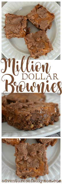 Million Dollar Caramel Brownies Recipe