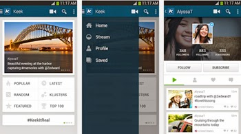 Graba y comparte videos en la red social Keek